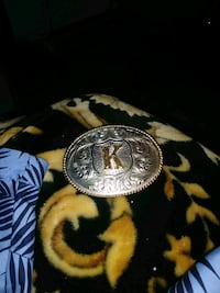 """K"" belt buckle Fort Lauderdale"