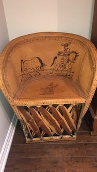 2 identical Mexican style chairs and table Burlington, L7M 4H4