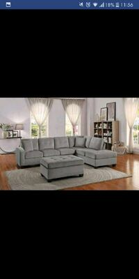 Brand New Grey Sectional  Austin
