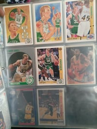 Basketball card  collection.