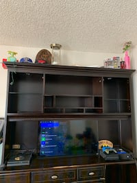 Entertainment center/desk