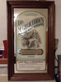 Dr. McGillicuddy's Beer Mirror.