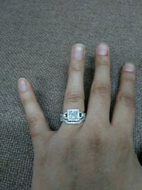 Size 6 sterling silver (.925) wedding rings Hamilton Township