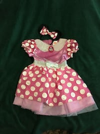 Minnie Mouse Costume 2T Riverdale, 30274