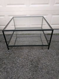 Coffee Table, square, glass