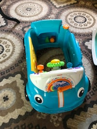 Fisher-Price Laugh & Learn Smart Stages Crawl Around Car Etters, 17319