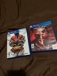 two Sony PS4 game cases McDonough, 30252