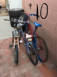 Used bicycles $10 each or 3 for $25 Phoenix, 85051