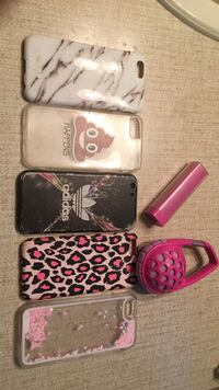 iPhone 6 cases, portable charger and speaker.  Pitt Meadows, V3Y 1C8