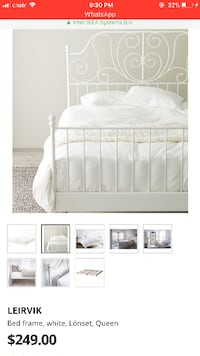 IKEA Bed (mattress not included) Toronto