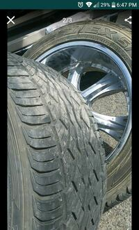 chrome multi-spoke car wheel with tire screenshot Riverside, 92506