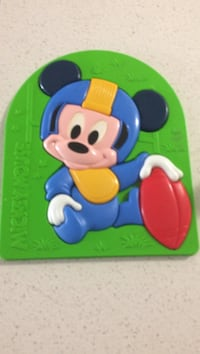 Mickey Mouse plastic puzzel Surrey, V3W