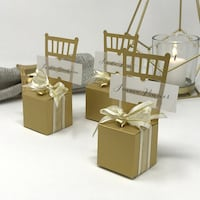 90 Chair Wedding Favour and Seating Cards