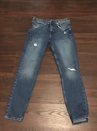 H&M skinny jeans size 30w in VGUC from N/S home. Mission