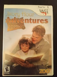 Brand New Wii game Story Hour Adventures 557 km