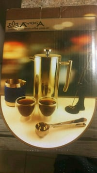 Ayoga french stainless steel press set Ashburn, 20147