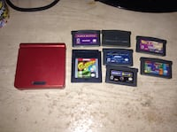 Game boy advance and games