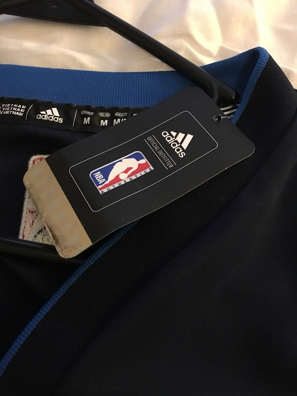 d4dacf140 Used Blue and white adidas dallas Mavericks Jersey for sale in Grand ...
