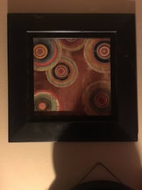 black and brown abstract painting Colorado Springs, 80905