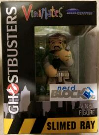 MISB VINIMATES GHOSTBUSTERS SLIMED RAY VINYL FIG.  Cambridge