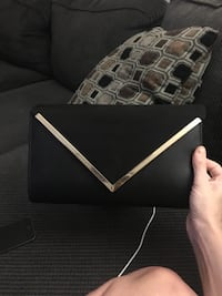Brand new aldo clutch black
