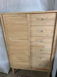 Dresser Armoire Chest Cabinet with 8 drawers Haymarket, 20169