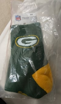 Green Bay Packers Unopened NFL Large Socks Springfield, 22153