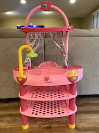 Baby care station