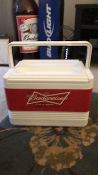 white and red Coca-Cola cooler box Arlington, 22203
