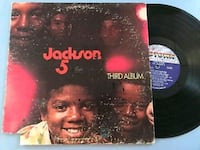 Third Album by Jackson 5 1970 Vinyl Motown Records Frederick, 21702