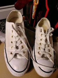 pair of white Converse All Star low-top sneakers Spencer, 24165