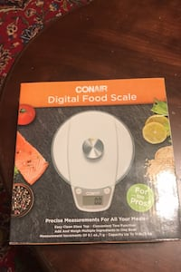 Digital food scale Burke, 22015