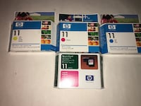 HP 11 ink cartridges Freehold, 07728