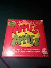 Apples to Apples board game box Edmonton, T6J 4J9