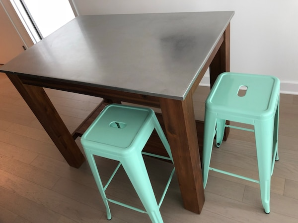 LAST CHANCE - MOVING OUT OF STATE - West Elm Rustic Kitchen Island