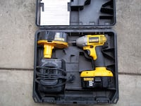 Dewalt 18 V Impact w/ 2 batteries, case and charger Uniontown