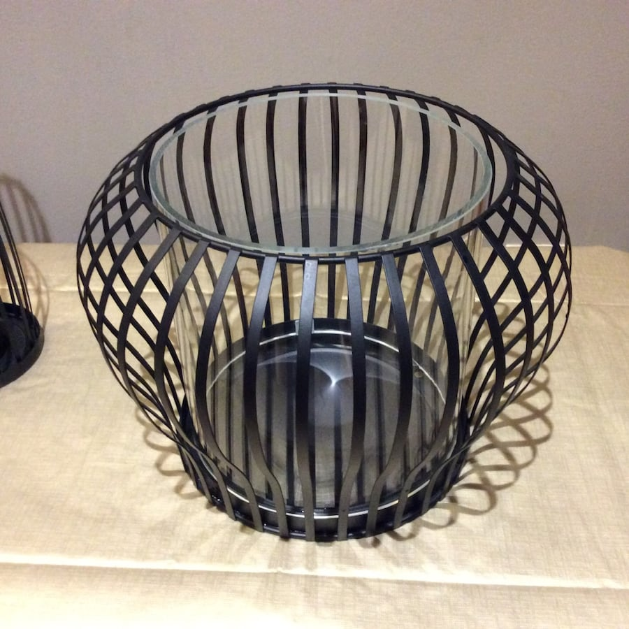 Partylite hurricane candle holder