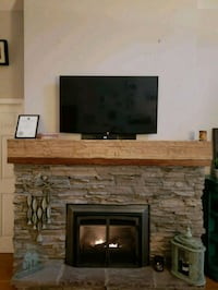 6 Foot Hand Hewn Fir Beam Burnaby
