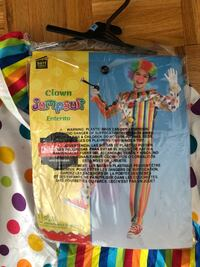 Halloween clown costume for kids  Laval, H7E 5L2