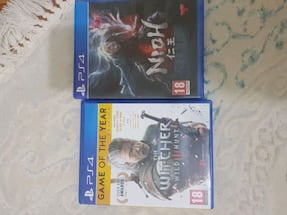 Wicher 3 ve nioh ps4 oyun