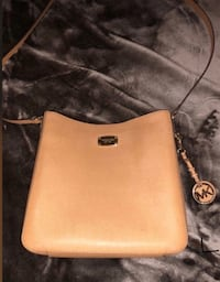 brown Michael Kors leather crossbody bag Salinas, 93907