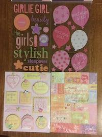 Used Scrapbook Stickers For Girls In Dexter Letgo
