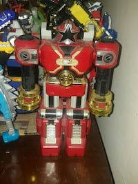 power ranger  red robot toy 35 km