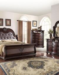 [CLEARANCE] Stanley Brown Chest | B1600 Regular Price : $619.00 (Bedroom Set is available) Houston, 77036