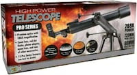 BNIB Top Rated Power Telescope Toronto, M2J 5C2