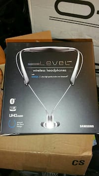 black and gray Samsung Level wireless headphones b Oakland, 94611