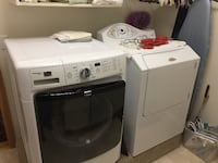 white washer and dryer set COLORADOSPRINGS