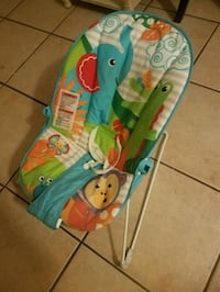 baby's blue and green bouncer Orlando, 32810