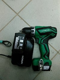 зеленый и черный Hitachi power drill Пушкино, 141207