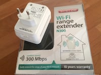 bianco Sitecom Wi-Fi extender N300 con scatola